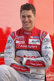Smiling french driver Loic Duval Royalty Free Stock Images