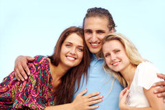 Smiling friends Royalty Free Stock Images