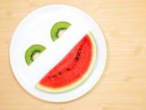 Smiling fruit royalty free stock photos