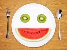 Smiling fruit Stock Photo