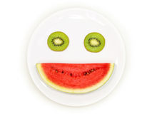Smiling fruit Stock Photography