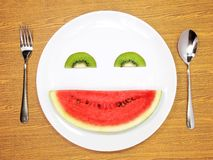 Smiling fruit Royalty Free Stock Photography