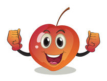 A smiling fruit Royalty Free Stock Image