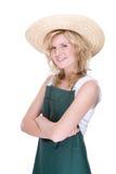 Smiling gardener Royalty Free Stock Photography