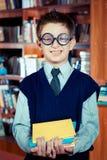 Smiling geek Stock Photos