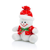Smiling Generic Christmas Snowman Toy Stock Image