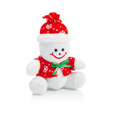 Smiling Generic Christmas Snowman Toy Stock Photography