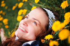 Smiling Gerl Royalty Free Stock Images