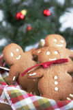 Smiling ginger bread Royalty Free Stock Photography