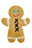 Smiling Gingerbread Man Royalty Free Stock Photo