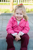 Smiling of girl Royalty Free Stock Photo