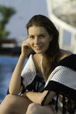 Smiling girl. Stock Image