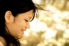 Smiling girl :) stock image