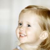 Smiling girl. Smiling sweet girl Stock Images