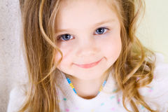 Smiling girl Royalty Free Stock Photos