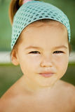 Smiling girl asian-mestizo Stock Photo