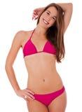 Smiling girl in bikini Royalty Free Stock Photo
