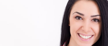 Smiling girl face Royalty Free Stock Images
