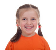 Smiling girl portrait Royalty Free Stock Image