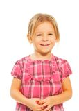 Smiling girl portrait Royalty Free Stock Photos