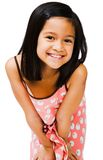 Smiling girl posing Stock Images