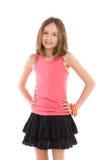 Smiling girl posing Royalty Free Stock Image