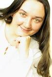 Smiling girl's portrait Stock Image