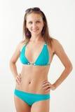 Smiling girl in swimwear Stock Photography