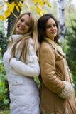 Smiling girls Stock Photos