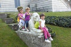 Smiling girls Royalty Free Stock Image