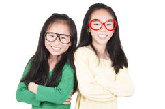 Smiling girls Royalty Free Stock Images