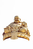 Smiling Golden Buddha Statue Royalty Free Stock Photography