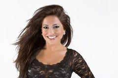 Smiling gorgeous woman Stock Image