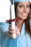Smiling Graduate Stock Image