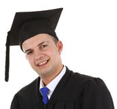 Smiling graduate Royalty Free Stock Image
