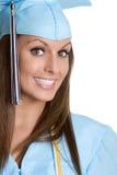 Smiling Graduate. Beautiful smiling graduating teen girl stock photos