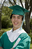 Smiling Graduate Boy Royalty Free Stock Images