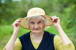 Smiling grandmother Royalty Free Stock Photography