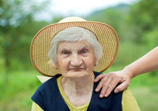 Smiling grandmother Stock Photography