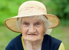Smiling grandmother Stock Image