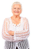 Smiling granny Royalty Free Stock Photography