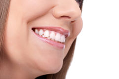Smiling with great teeth Stock Photography