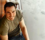 Smiling guy Stock Image