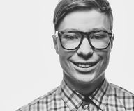 Smiling guy Stock Photos