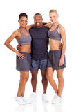 Smiling gym instructors Stock Image