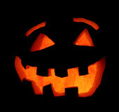 Smiling Halloween Pumpkin Royalty Free Stock Photography