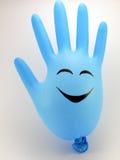 Smiling hand Stock Photos