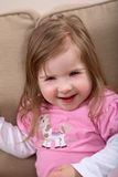 Smiling handicapped toddler Royalty Free Stock Photos