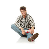 Smiling handsome man Royalty Free Stock Photography