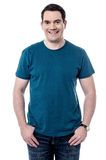 Smiling handsome man in casual attire Royalty Free Stock Images